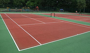 basketball, tennis, play area installation Peterborough